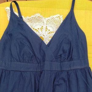 New Navy Blue Sun Dress